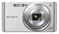 Sony Cyber-shot DSC-W830 серебристый 20.1Mpix Zoom8x 2.7